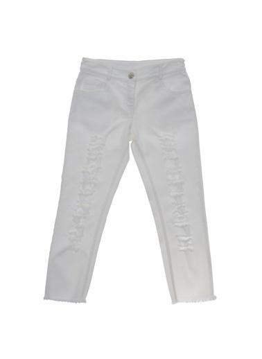 Panço Pantolon 19121014100 Beyaz